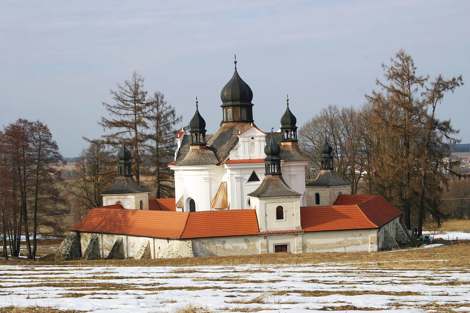 Trinity Church in Trhové Sviny